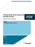 3-Phase BLDC Drive Using Variable DC Link Six-Step Inverter DRM078