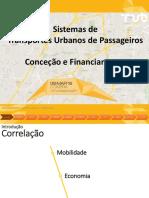 Conceção e Financiamento de Sistemas de Transportes Urbanos