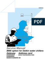 BMS option for Daikin water chillers