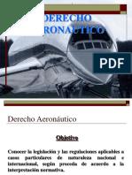 Introducción Al Derecho Aeronáutico Presentación 1
