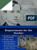 The Rizal Law