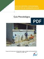 9. Gua Metodolgica Ciclo Unificado de Gestin Comunitaria - Municipal de Proyectos de Inversin Social