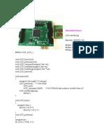 Project of Keil Programming