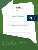 Unidad4.Aplicacionesdeladerivada