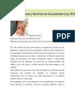 Ley de Deberes y Derechos de Los Pacientes