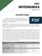 001 - Anatomy Book - Osteologia