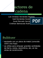 Presentación Tractores de cadena (BULLDOZER)