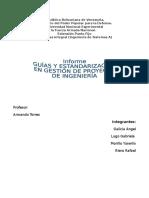 Guías y Estandarizacion en Gestión de Proyecto de Ingeniería