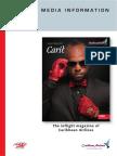 Caribbean Beat Avertising Rates and Media Card 2015
