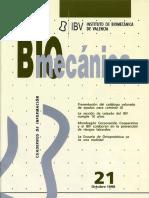 Revista Biomecanica IBV 21