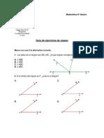 Guia Repaso Prueba Matematica