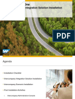 SAP Bussiness One Intercompany