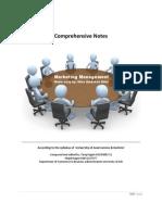 Marketing Management Notes Complete