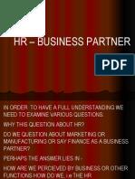 HR - Business Partner - DB