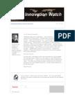 Innovation Watch Newsletter 9.09 - April 24, 2010