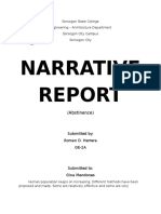 Narrative Report Soc Sci