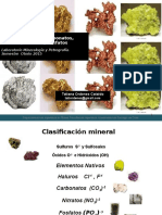 Nativos, Carbonatos, Sulfatos