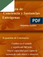 Expansión de Conciencia y Sustancias Enteógenas
