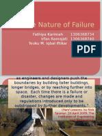 The Nature of Failure
