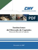 Instituciones Del Mercado de Capitales