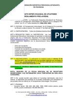 Reglamentos de Atletismo 2015