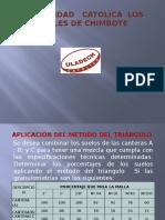 Metodo Del Triangulo Aplicacion