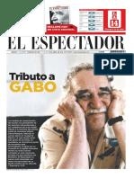 El Espectador - Tributo a Gabo
