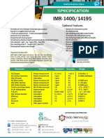 124-Portable Combustian Gas Analyzer IMR-1400 14195