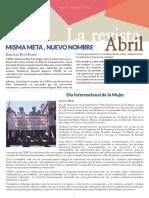 Revista Cenit-Abril 2015