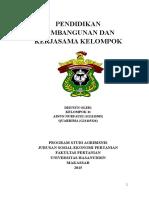 Pendidikan Pembangunan Dan Kerjasama Kelompo1