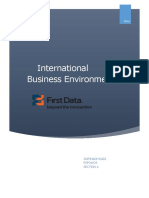 First Data Internal Analysis
