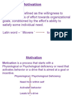 Presentation on Motivation