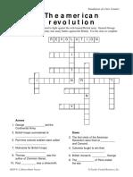 amerocam revolution crossword