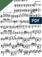 Rekhin - Prelude and Fugue No 21