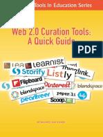 Web 2.0 Curation Tools