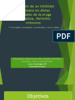 Evaluación de Un Inhibidor Microbiano en Dietas Artificiales