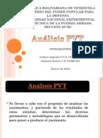 Analisis PVT