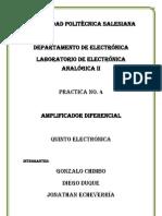 Informe cuatro (1)