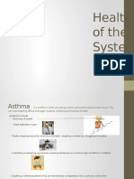 Health Problems of the Respiratory System(1)