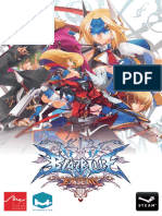 BlazBlue Continuum Shift Extend Manual en Ingles