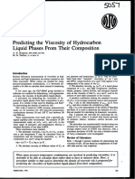 Predicting the Viscosity of Hydrocarbon Liquid Phases From Their Composition