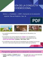 Evaluación de La Conducta Socioemocional (1)