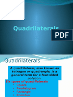 Lecture 4 - Quadrilaterals