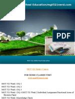MGT 521 NERD Real Education/mgt521nerd.com
