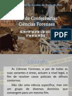 Ciclo de Conferências - Antropologia