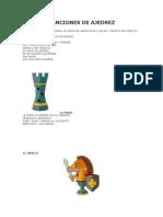 Teoria de Como Mover Las Piezas Ajedrez