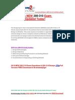 [PDF]2016 New Cisco Ccda Design 200-310 Desgn PDF