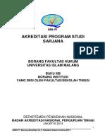 Borang Akreditasi Fakultas Hukum Unisma-buku 3b
