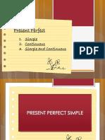 Present Perfect Presentation