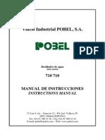Manual Destilador